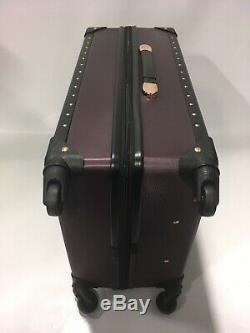 Vince Camuto Fig Jania 3pc Luggage Set Spinner Wheels Gold Studs Msrp 1080 New