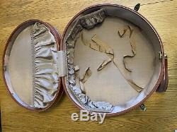 Vintage 1950 Samsonite Shwayder Brothers Complete Luggage Set Hard Side Suitcase