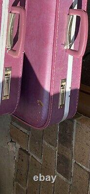 Vintage JCPenney luggage set