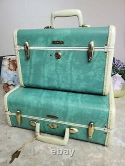 Vintage Samsonite 2 piece luggage set