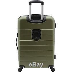 Wrangler El Dorado 3 Piece Spinner Set with USB Port & Luggage Set NEW