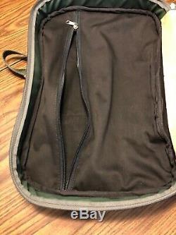 2 Piece Jon Hart Vert Voyage Luggage Set 20x14 & 24x16 Euc Zipper