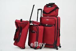 200 $ Nouveau Tag Voyage Collection Springfield III 5 Pc Valise Spinner Luggage Set