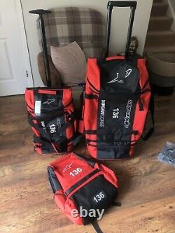 2021 Alpinestars Ducati Motogp Team Issue Travel Set. Nouveau. Rare
