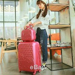 20222428 Hello Kitty Suitcase Set Enfants Femmes Bagages Sac De Voyage Trolley