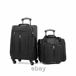 $298 Travel Pro Tp7030q2a01 2 Piece Carry-on Luggage Set 21 Spinner Extensible