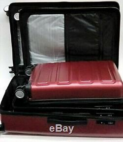 3 Pièces Showkoo Polycarbonate Hardshell Et Léger Luggage Set 20 24 28