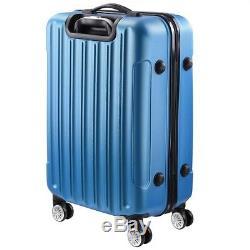3pcs 20/24/28 Sac Luggage Set Voyage D'affaires Valise Trolley Roues Avec Serrure