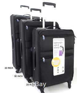 4 Roues Spinner L Poids Luggage Set De 3 / Simple Cabine Valises Trolley Voyage