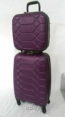 400 $ Aimee Kestenberg Diamond 2-pc Carry-on Luggage Set Siège Sous Sac