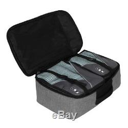 40l Vol Approuvé Bagages À Main Sac À Dos Voyage Cabin Holdall S / 3 Cubes D'emballage