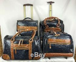 8 Pc Samantha Brown Marine Classic Spinner Set Nouveau Bagages