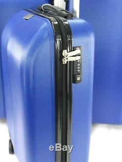 8 Roues Lightweight Spinner Case Set Voyage Bagages 3 Valise Trolley Cabine Sac