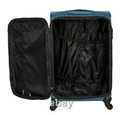 Airas Lightweight 4 Roues Bagage Set Valises Cabine De Voyage Trolley Case 3pc