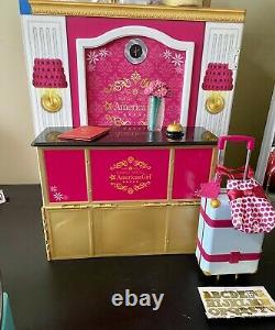 American Girl Doll Grand Hotel & Truly Me Voyage Dans Le Style Rolling Bagage Set