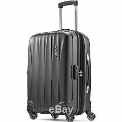 American Tourister Arona Hardside Spinner Luggage Set 3pcs 20 25 29 Charbon De Bois