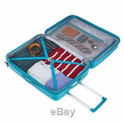 American Tourister Curio 3 Pièces Hardside Spinner Luggage Set Bleu Biscaye