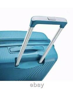 American Tourister Curio 3-piece Hardside Spinner Luggage Set Blue Pdsf 249 $