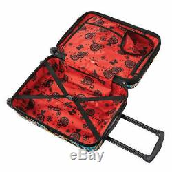 American Tourister Disney Carry On Luggage Set 2 Pièces, Minnie Mouse (1993)