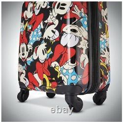 American Tourister Disney Roll À Bord Luggage 2 Piece Set. Conception De Souris De Mickey