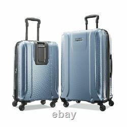 American Tourister Fender 2 Pièces Set De Bagages Ardoise Couleur Bleue