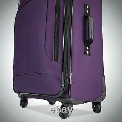 American Tourister Pop Max 3 Piece Luggage Set Spinner 29/25/21 (violet)