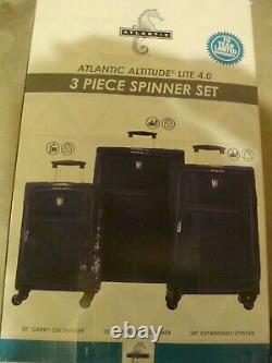Atlantic Altitude Lite 4.0 Léger Set À Bagages Spinner 3 Pièces