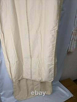 Authentique Louis Vuitton Garment Cover Suit Storage Set Of 2 Men's Women's Cotton