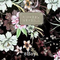 Badgley Mischka Essence 2 Piece Luggage Set Dur Spinner (fleurs D'hiver)