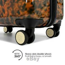 Badgley Mischka Essence 2 Piece Luggage Set Dur Spinner (tortoise)