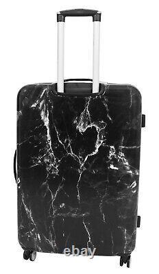Bagage De 4 Roues Coquille Dure Valises Extensibles Sacs De Voyage Légers Granite