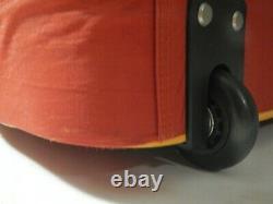 Baggallini Rolling Red Orange Set Travel Bag Bagages À Roulettes