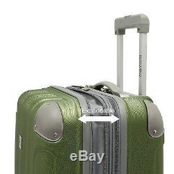 Beverly Hill Country Club Malibu Newport Orange Spinner Luggage Set Valise