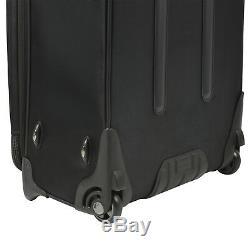 Birmingham Noir 25 29 Résistant À L'eau Sac Valise Robuste Rolling Luggage Set