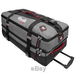 Bogi Bag Trolley Set 3-set Reisetaschen Koffer 40 L + 85 L + 110 L Grau / Schwarz