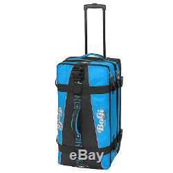 Bogi Sac Trolley Reisetaschen Koffer Set 2 Teilerollen 85 L + 110 L Blau / Schwarz