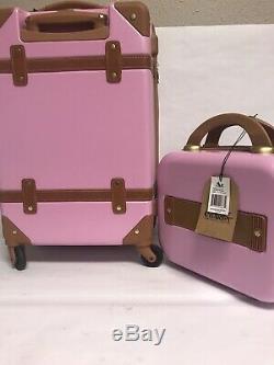Chariot Gatsby 2 -pac. 20 Carry On And Beauty Case Nouveau Jeu De Couleurs Rose