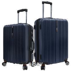 Choix Voyageur Tasmanie Marine 21 25 Polycarbonate Spinner Valise Luggage Set