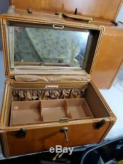 Cuir Vintage Samsonite Valise Shwayder Luggage Set De 3 Avec Les Touches