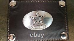 Dallas Cowboys 3 Pièces En Cuir Bagages Set- Duffle, Messenger Et Kit De Voyage