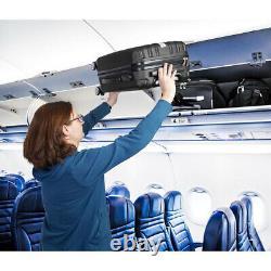 Deco Engrenage 3 Pc Luggage Set Série Elite Voyage Valise Hardside Spinner (noir)