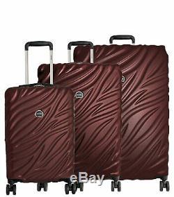 Delsey Paris Alexis 3 Pièces Légère Luggage Set Hardside Spinner Valise