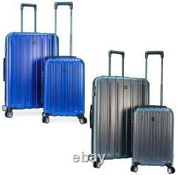 Delsey Paris Titanium 2 Pièces Light Extendable Hardside Bagage Set 31 & 21