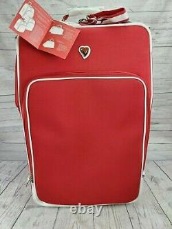 Diane Von Furstenberg Limited Edition Solid Hearts 3 Pcs Ensemble De Bagages Extensibles