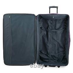 Elite Bagage Turin 4 Pièces Softside Lightweight Rolling Bagage Set