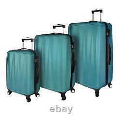 Elite Bagage Verdugo Hardside 3 Pièces Antivol Spinner Bagage Ensemble Dans Le Tétal