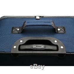 Elite Bagages Whitfield 5 Pièces Softside Léger Roulement Luggage Set