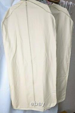 Ensemble Authentique De Rangement Louis Vuitton Costume De Couverture De Vêtement De 2 Coton De Taille Standard