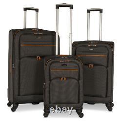 Ensemble De 3 Bagages Ensemble Sac De Voyage Trolley Spinner Carry On Suitcase 20 27 31