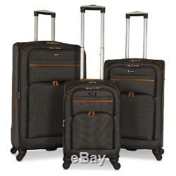 Ensemble De 3 Luggage Set Sac Voyage Trolley Spinner Carry Valise 20 27 31